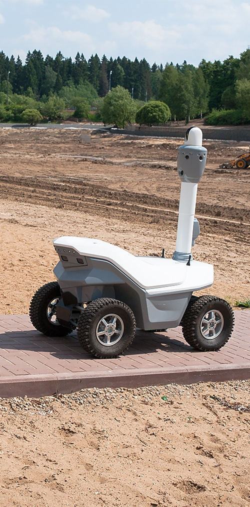 Next-generation outdoor mobile robots