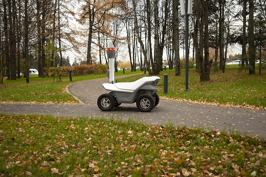 Next generation outdoor mobile robot S5.2