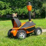 Security home robot