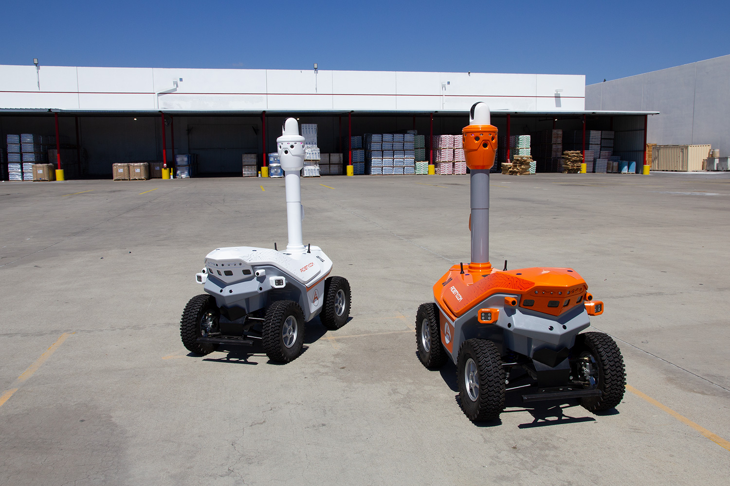 security patrol robots distribution