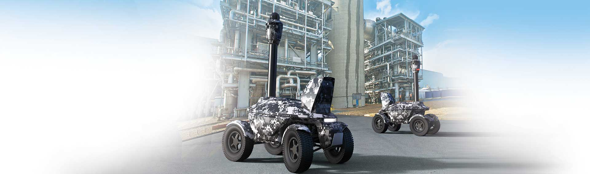 Security robots for leasing
