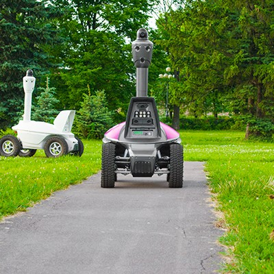 ROVER S5 surveillance security patrolling robot