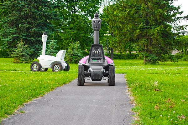 ROVER S5 surveillance security patrolling robot