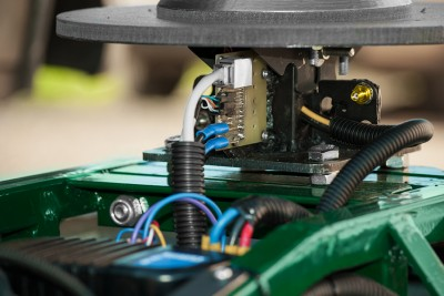 Mobile robot technology for long range interaction