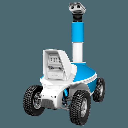 Outdoor telepresence robot
