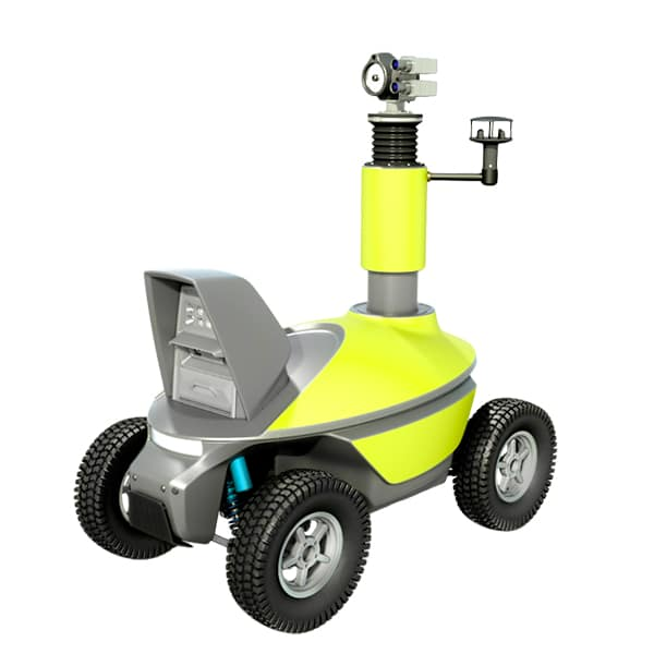 Gas leaks detection robot