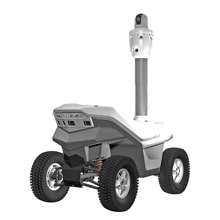 Outdoor panoramic surveillance robot S5.2