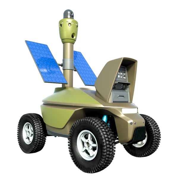 Security Robot System Smp Robotics Autonomous Mobile Robot