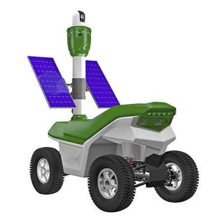Solar powered security robot S5.2