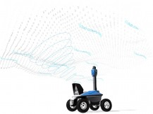 Cloud portal mobile robots