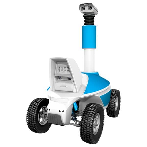 Telepresence robot - Outdoor telepresence