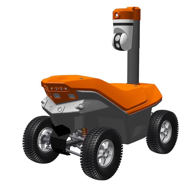 Oil leak and spill detection robot