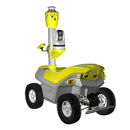 S6.2R Infrared gas leak detection robot