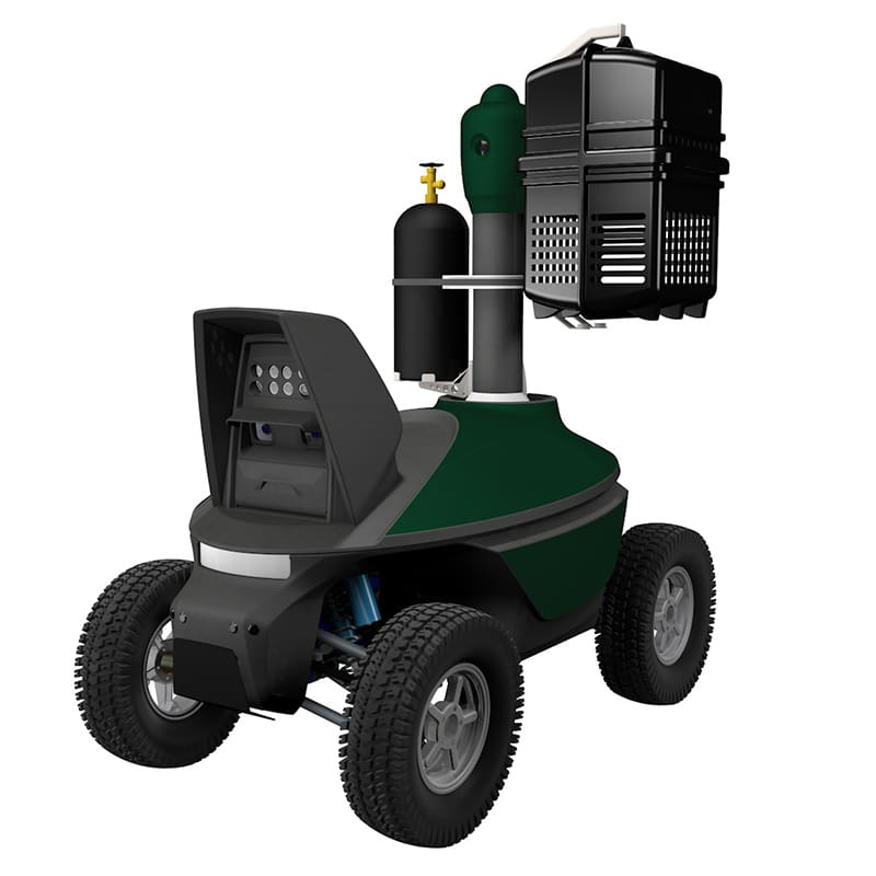 CO2 mosquito mobile trap