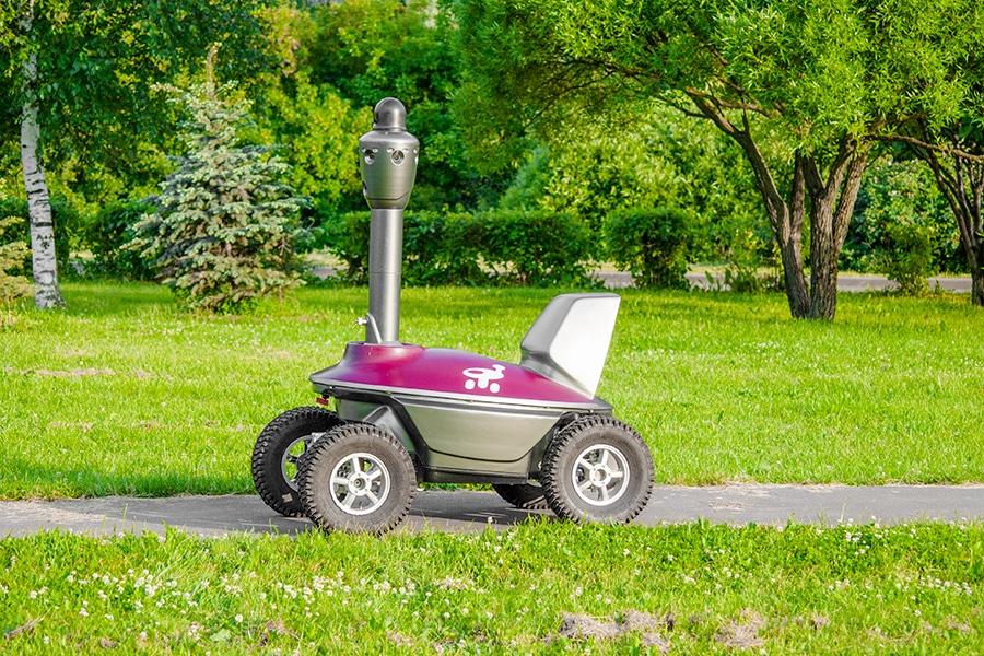 S5 PTZ Security Robot