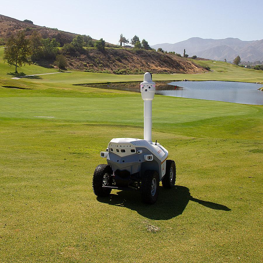 Autonomous Mobile Robot outdoor