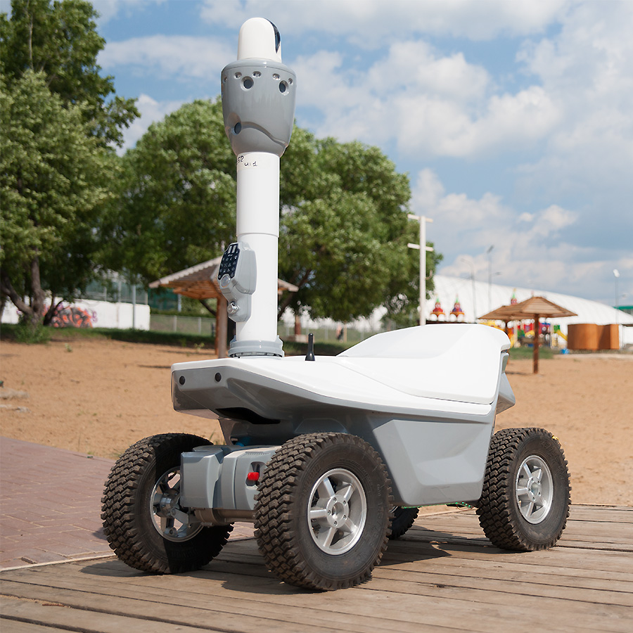 Intelligent robot UGV Smart city 2019