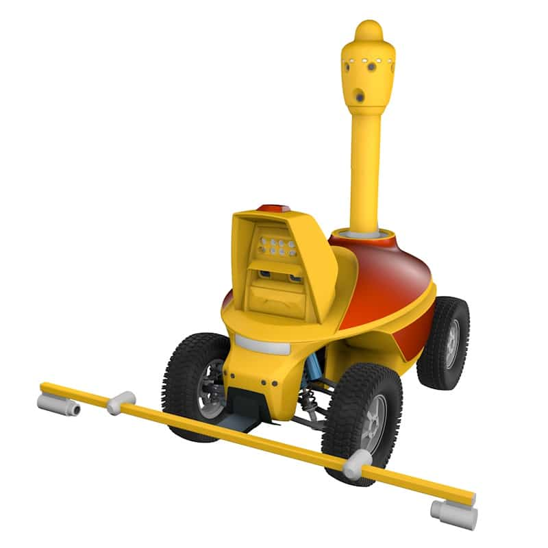 Underground natural gas pipeline leak detection robot