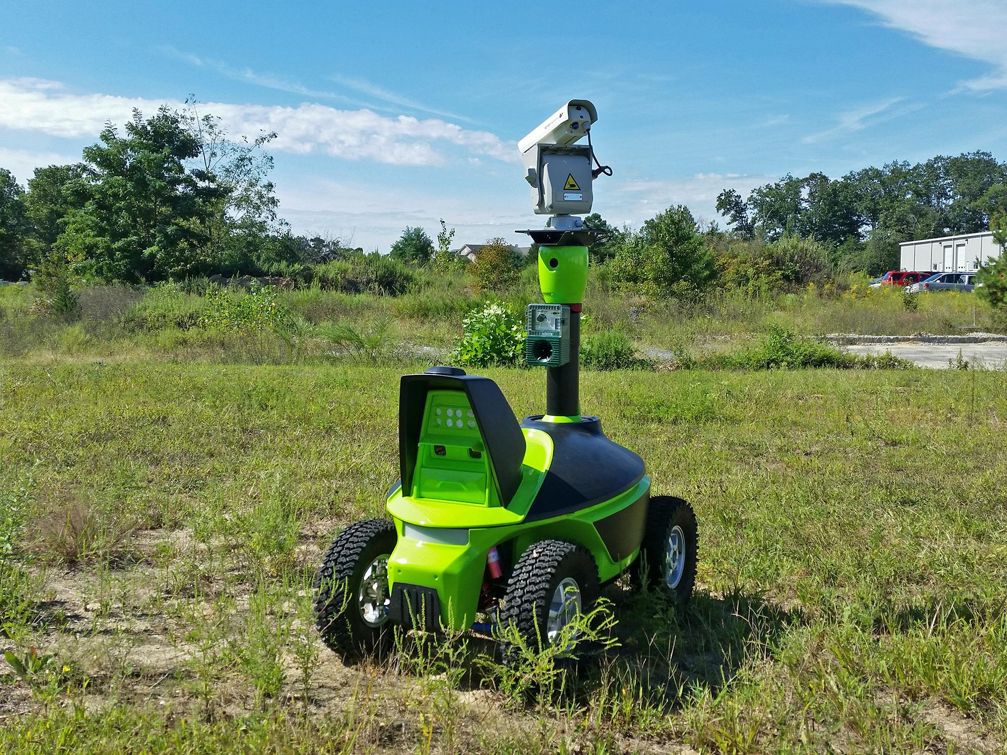 bird control robot