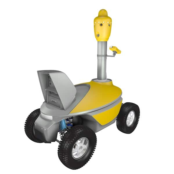 Gas monitoring robot