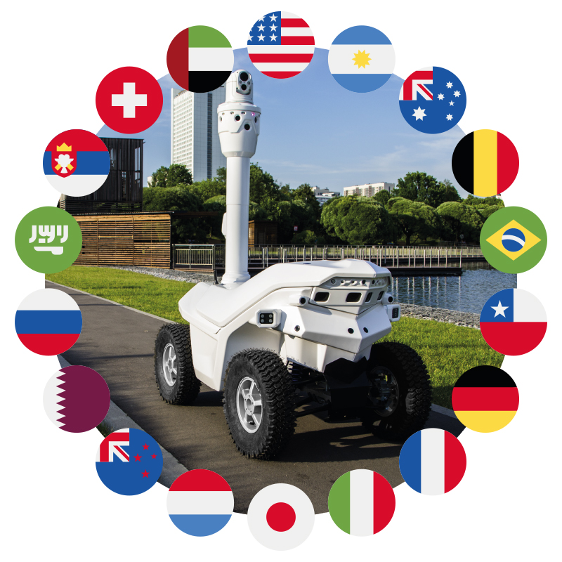 SMP Security robots around the world