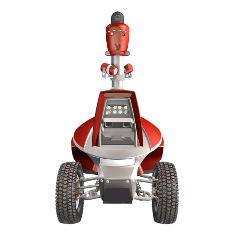 Flame detection robot