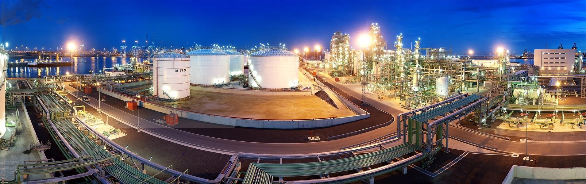 Oil refinery security patrol