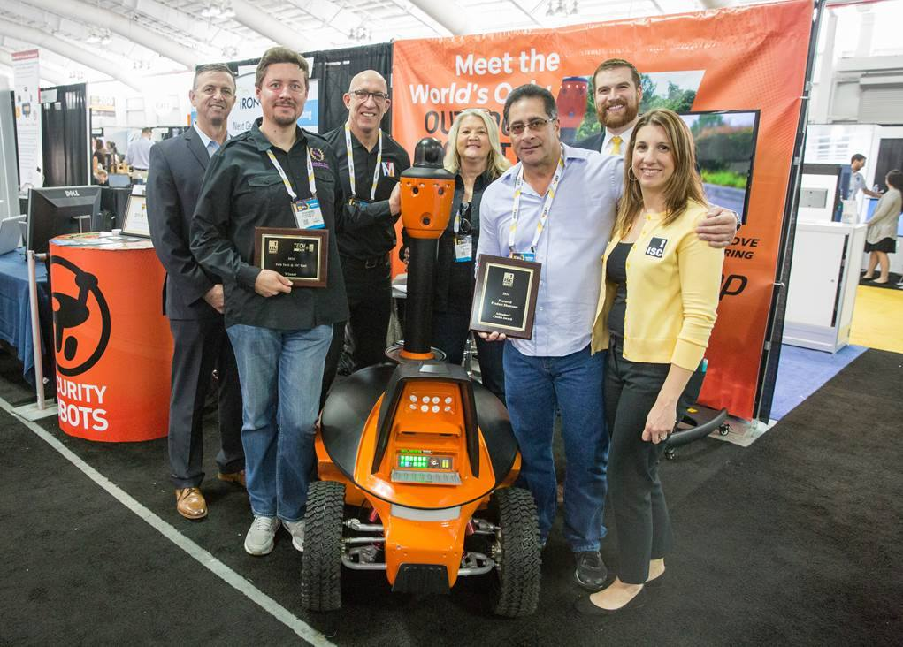 ISC East NY Tech Tank and Featured New Products award winner