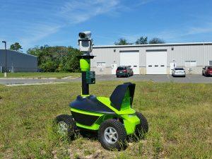 Agrilaser Autonomic mounted on a robot