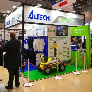 Altech booth at ROBODEX 2017