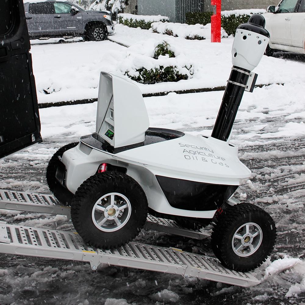 Security robot in Washington