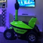 NVIDIA powered AI robotic solution