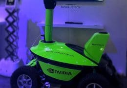 SMP S5 Security Robot showcased at NVIDIA GPU Technology Conference