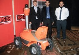 "SPS presented the SMP Robot S5 Security Patrol in the ""Day of the Security Argentina 2017"""