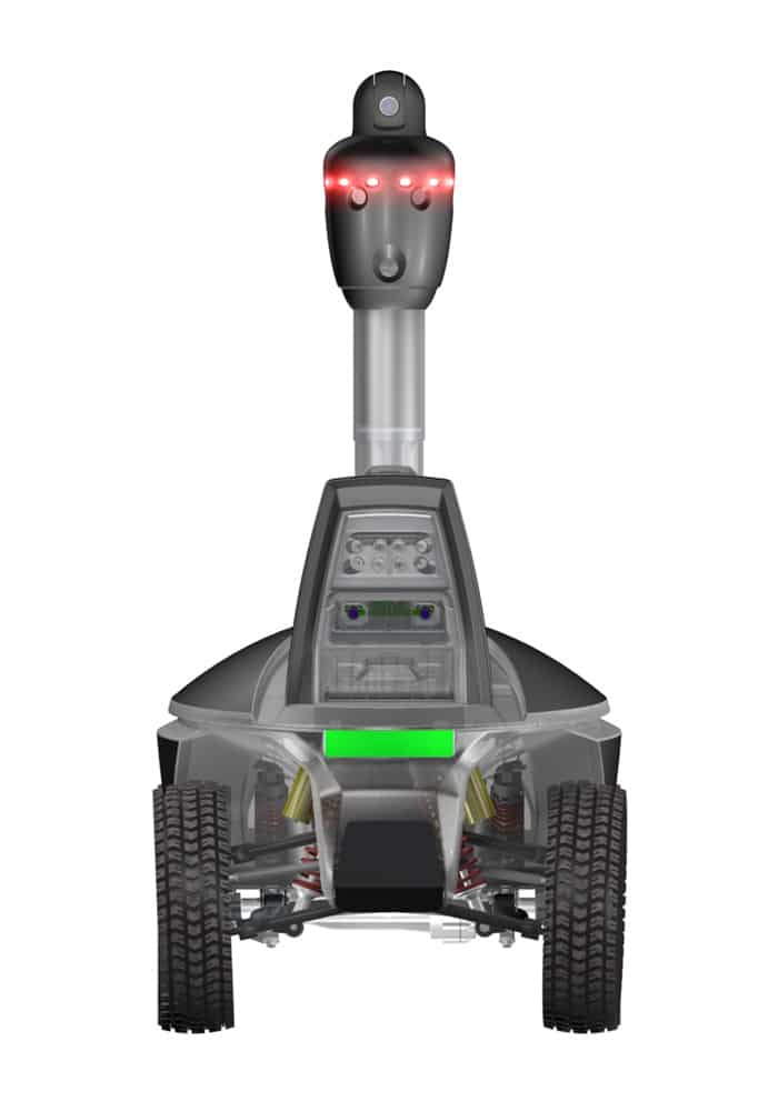 Advanced S5 Security robots
