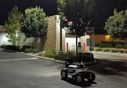 SMP Robotics S5.1 Robot Deployed at Shopping and Warehouse Center to Enhance Security and Intelligent Monitoring