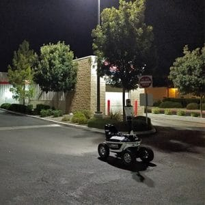SMP Robotics S5.1 Robot Deployed at Shopping and Warehouse Center