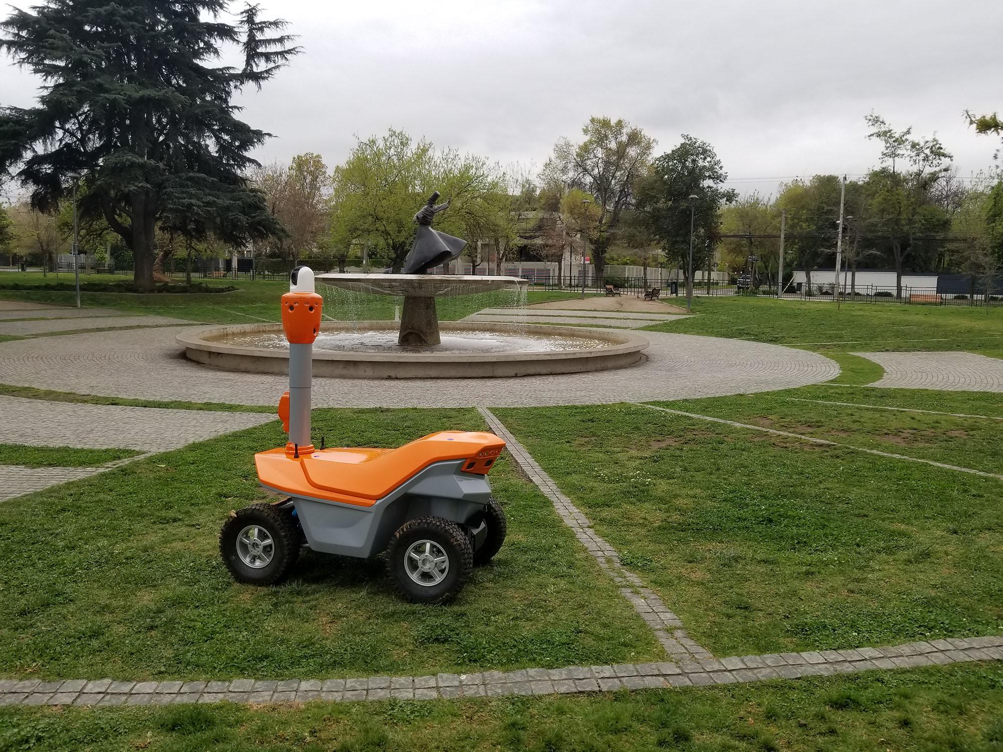 S5.2 smart surveillance robot