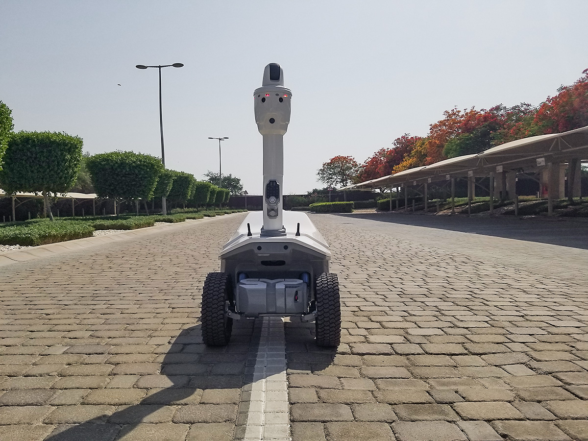 SMP Robotics robot on the Middle East
