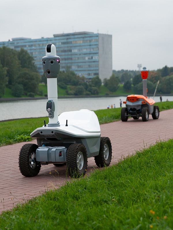 AI robots for critical infrastructure