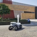 Picard security robot in Dubai