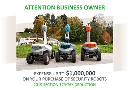 SMP Robotics Launches Leasing Program for USA Security Companies
