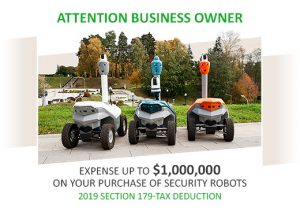 179 tax deduction for security robot