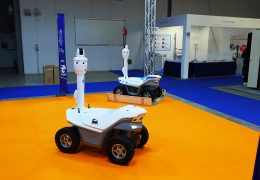 First security robots in Europe