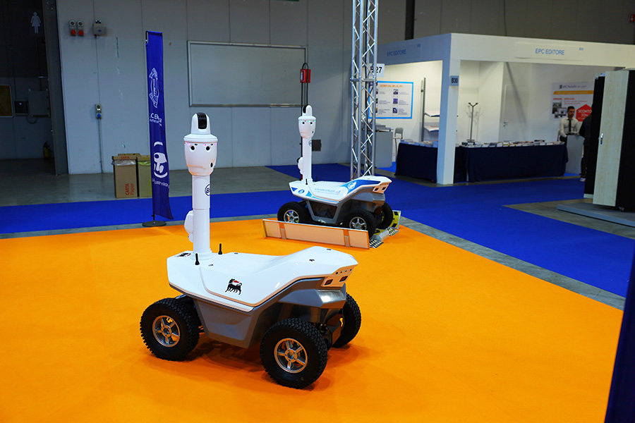 Security robots Italy