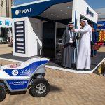 security guard robot Intersec 2020