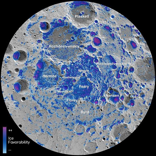 Lunar ice