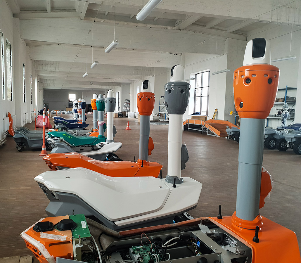manufacturing facility security robot
