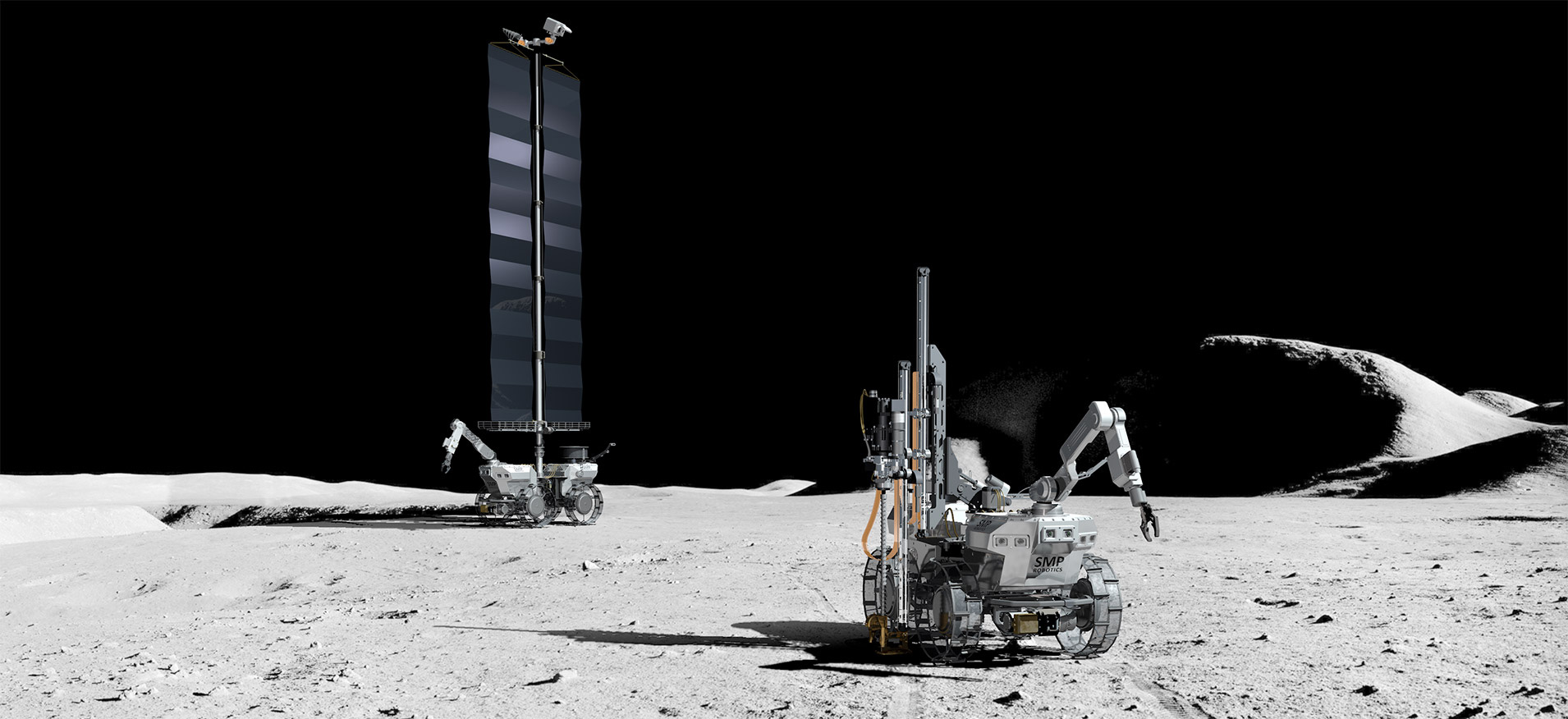 Moon Robot Exploration