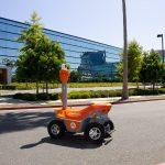 Security robot pandemic